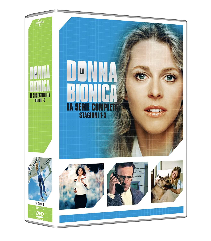 COF.LA DONNA BIONICA - COLLEZIONE COMPLETA STAGIONI 01-03 (16 D