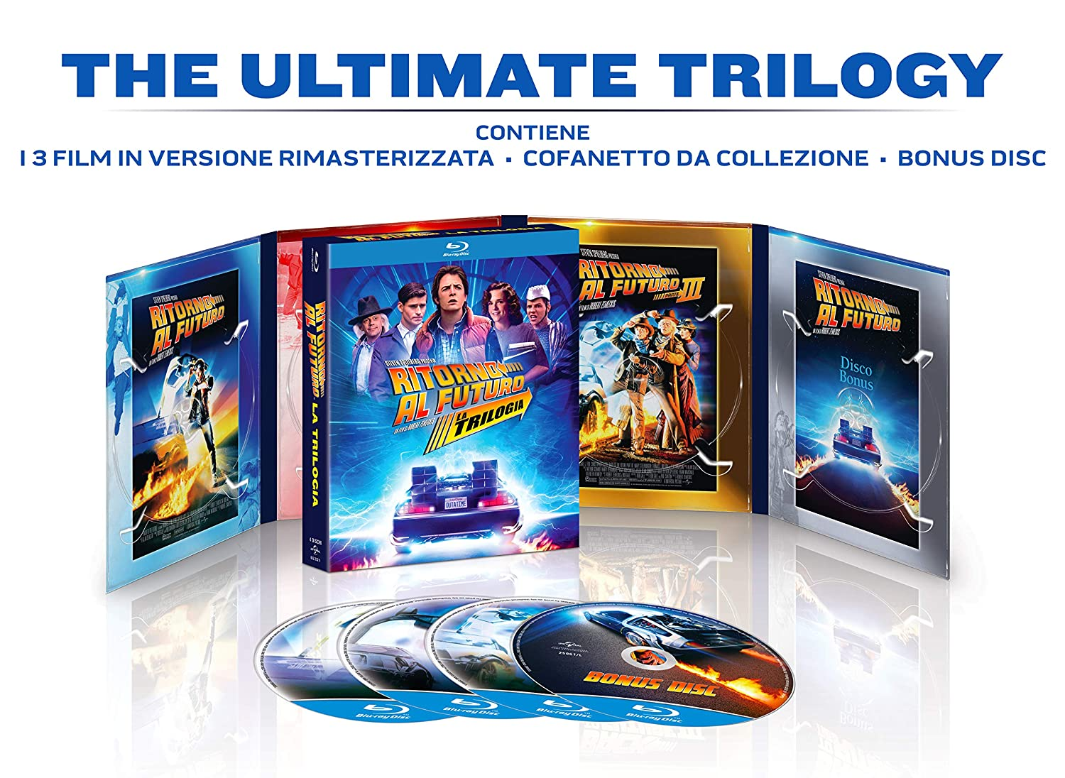 COF.RITORNO AL FUTURO - LA TRILOGIA 35TH ANNIVERSARY COLLECTION