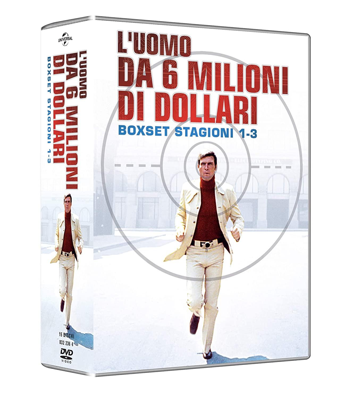 COF.L'UOMO DA SEI MILIONI DI DOLLARI - STAGIONI 01-03 (16 DVD)