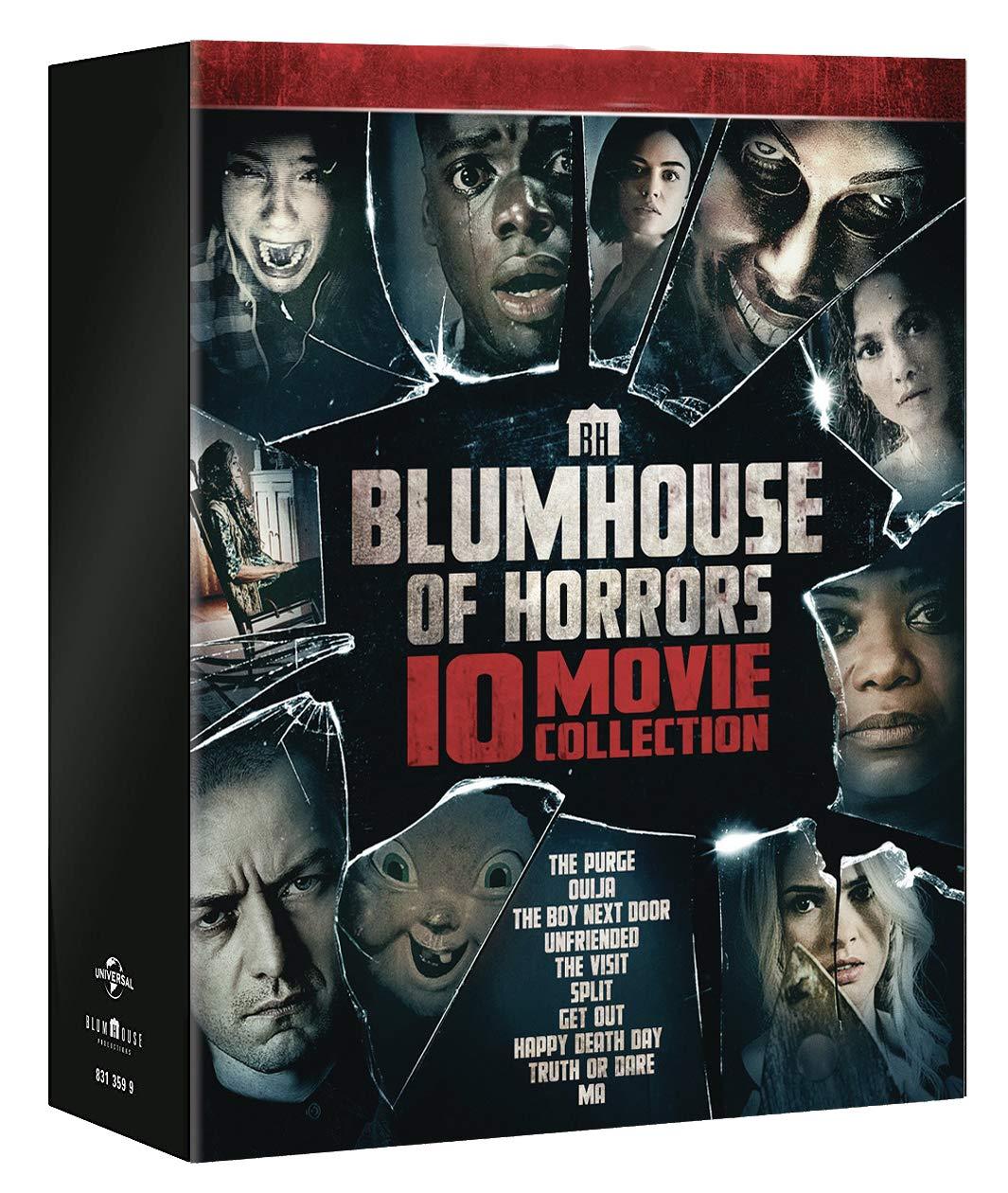 COF.BLUMHOUSE HORROR COLLECTION (10 DVD) (DVD)