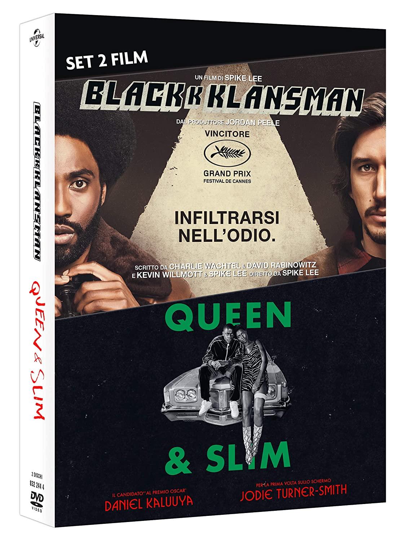 COF.BLACKKKLANSMAN / QUEEN & SLIM (2 DVD) (DVD)