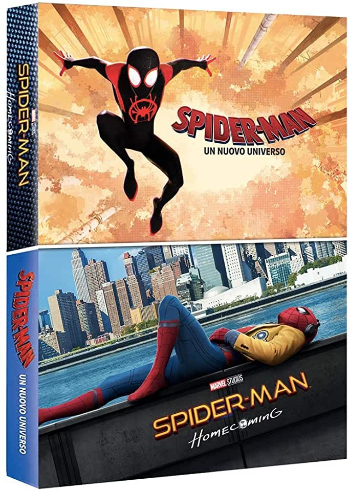 COF.SPIDER-MAN: UN NUOVO UNIVERSO / SPIDER-MAN: HOMECOMING (2 BL