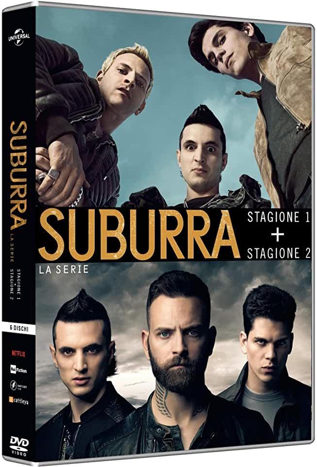 COF.SUBURRA - STAGIONI 01-02 (6 DVD) (DVD)