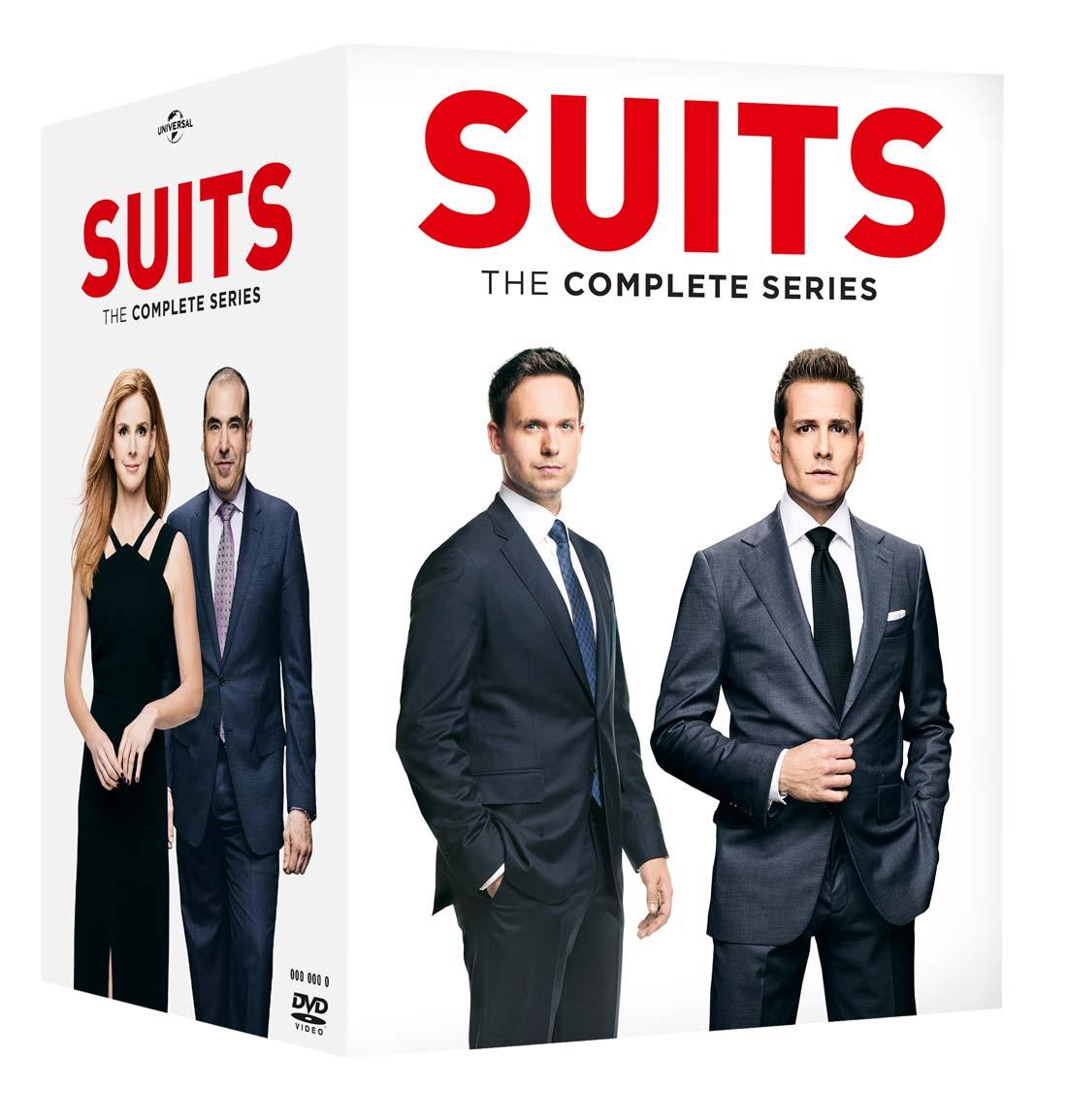 COF.SUITS - COLLEZIONE COMPLETA STAGIONI 01-09 (33 DVD) (DVD)