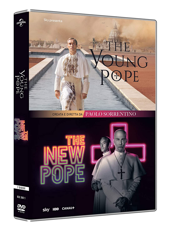 COF.THE YOUNG POPE / THE NEW POPE - COLLEZIONE COMPLETA (7 DVD)