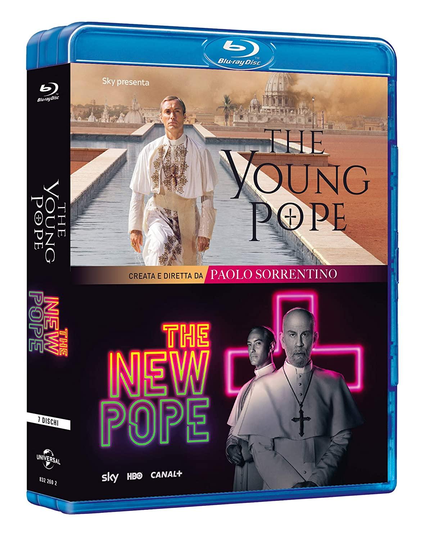 COF.THE YOUNG POPE / THE NEW POPE - COLLEZIONE COMPLETA (7 BLU-R