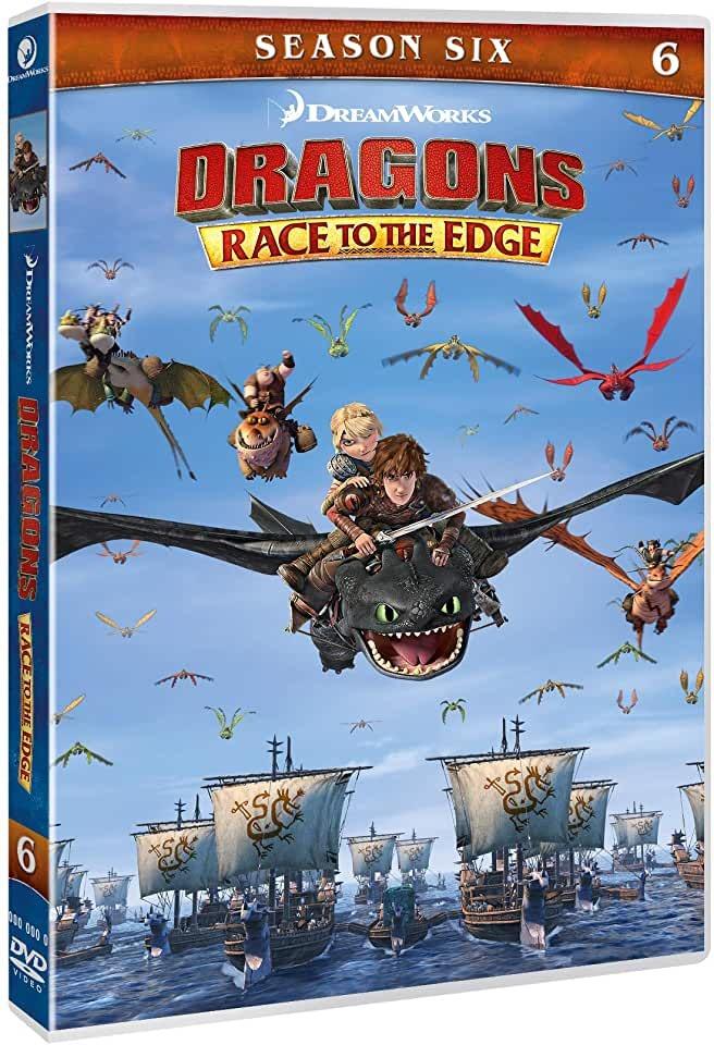 DRAGON TRAINER - OLTRE I CONFINI DI BERK - STAGIONE 06 (2 DVD) (