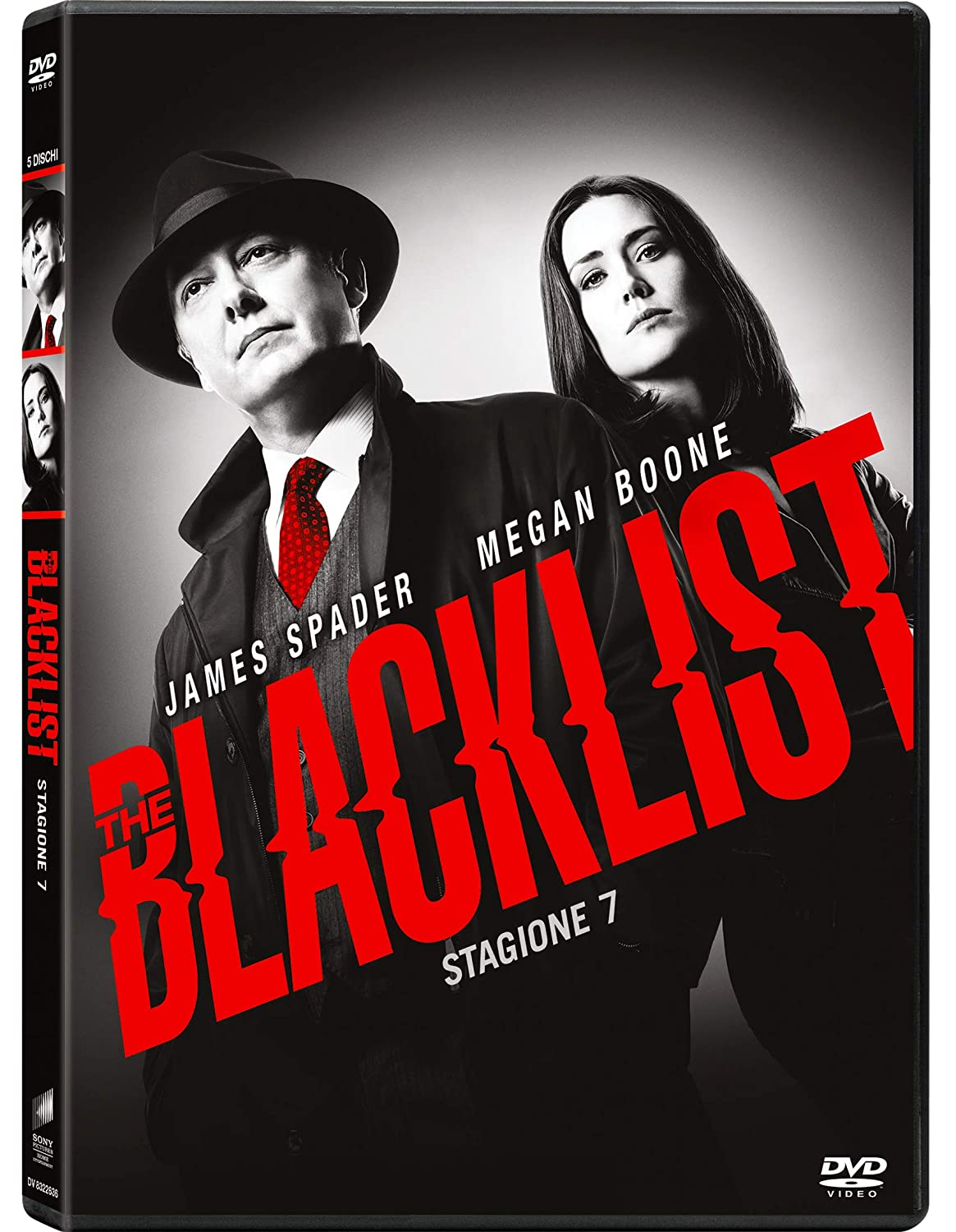 COF.THE BLACKLIST - STAGIONE 07 (5 DVD) (DVD)