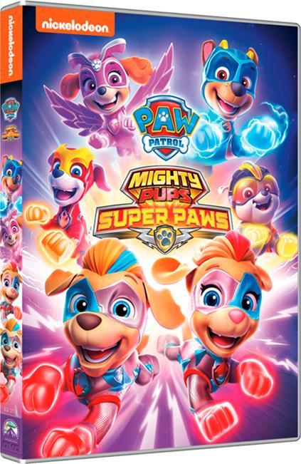PAW PATROL - MIGHTY PUPS SUPER PAW (DVD)