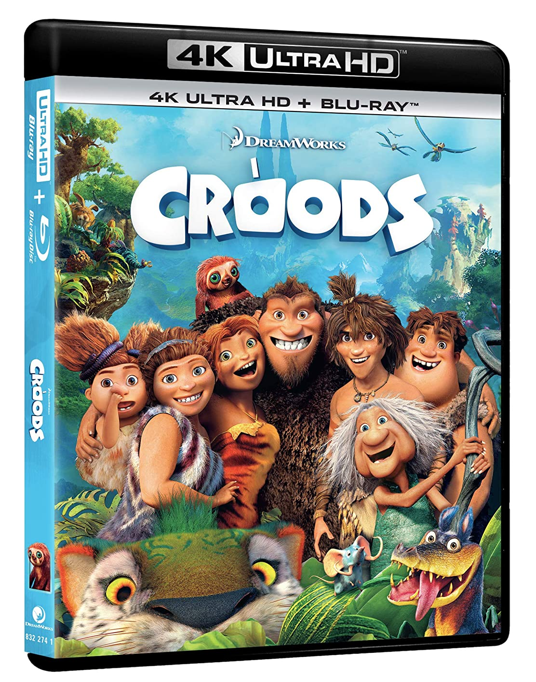 CROODS (BLU-RAY+4K ULTRA HD)