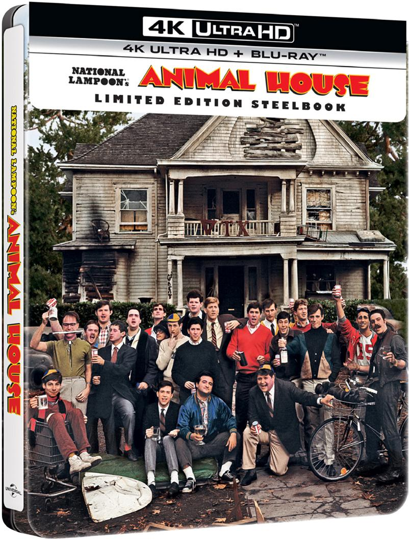 ANIMAL HOUSE (STEELBOOK) (4K ULTRA HD + BLU-RAY)