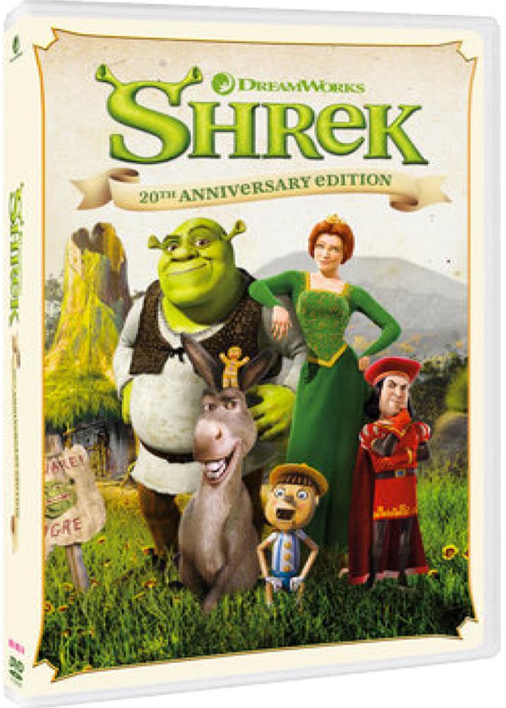SHREK 20TH ANNIVERSARY (DVD)