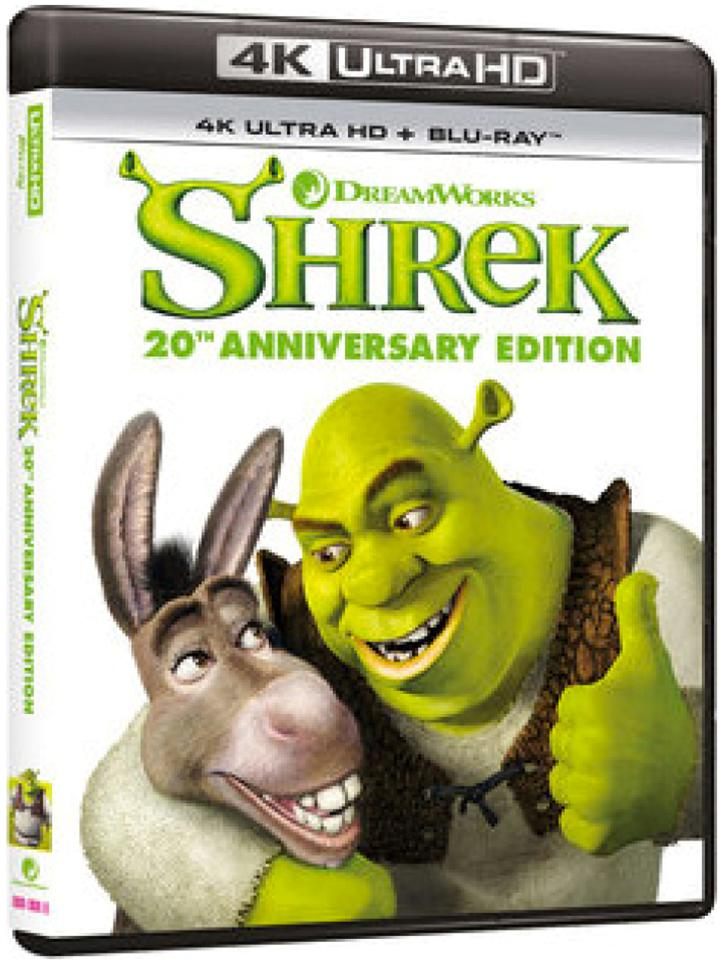 SHREK 20TH ANNIVERSARY (4K ULTRA HD + BLU-RAY)