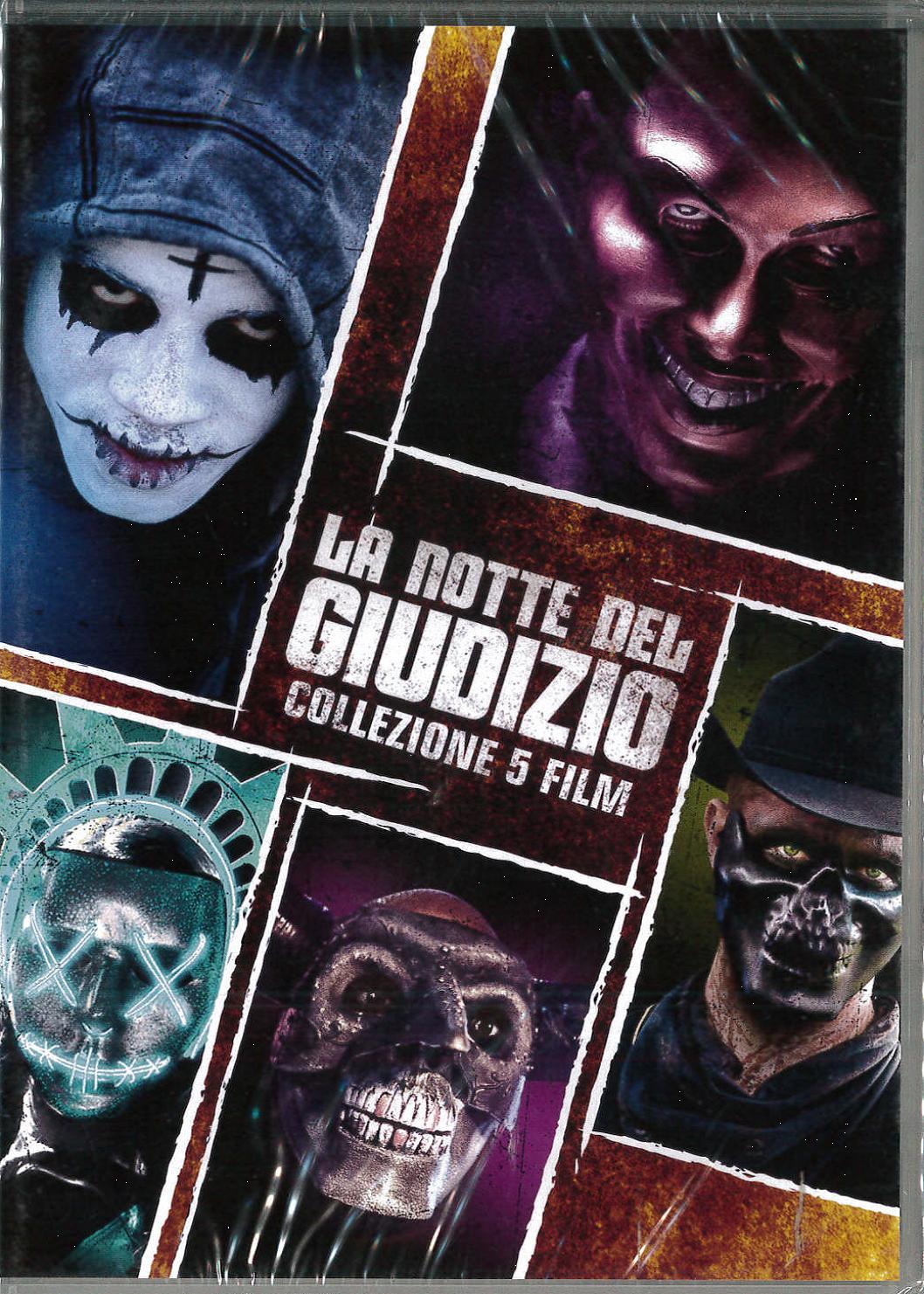 COF.LA NOTTE DEL GIUDIZIO COLLECTION (5 DVD) (DVD)