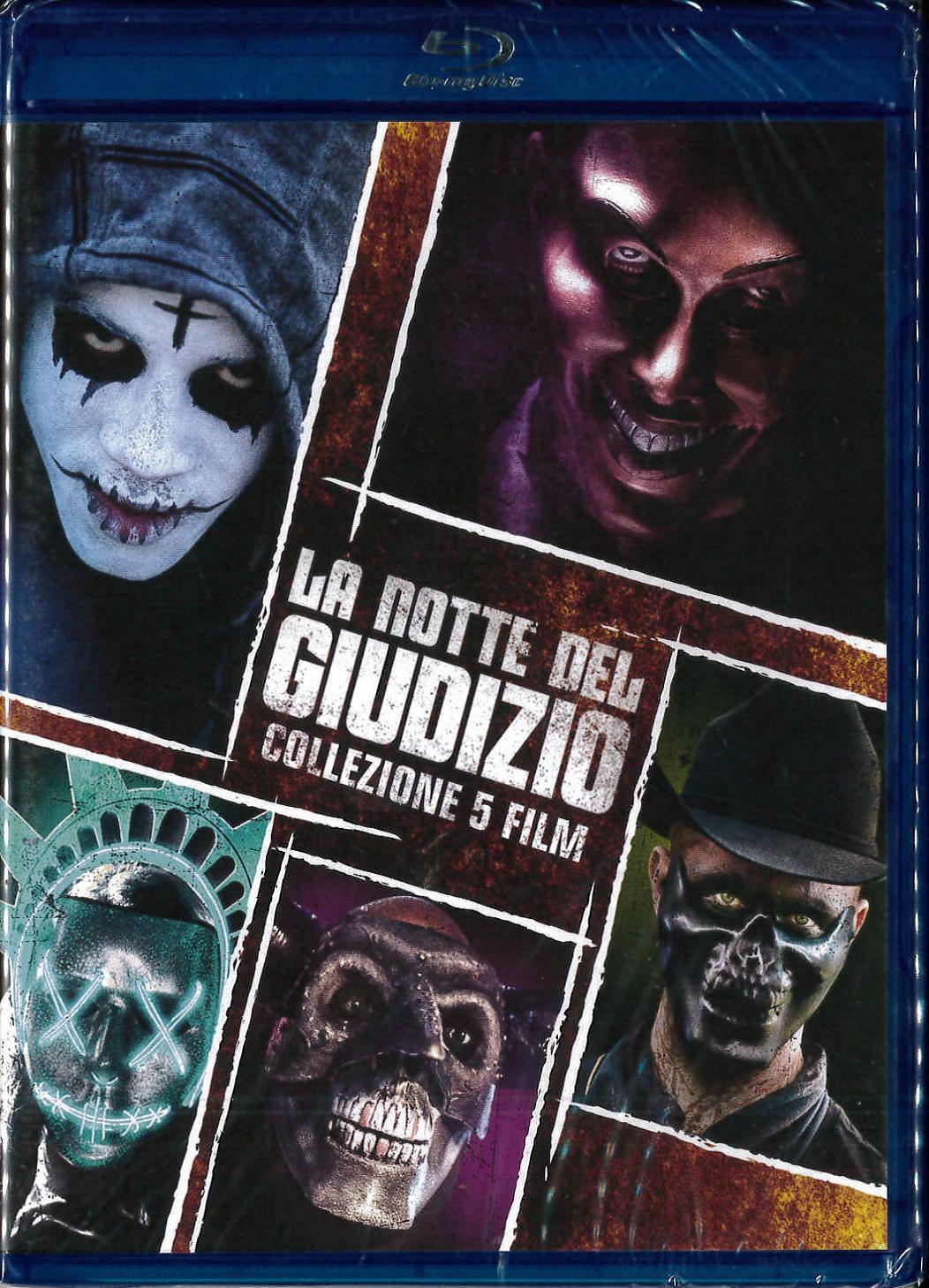 COF.LA NOTTE DEL GIUDIZIO COLLECTION (5 BLU-RAY)