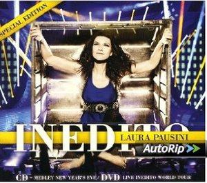 LAURA PAUSINI - INEDITO -CD+DVD (CD)