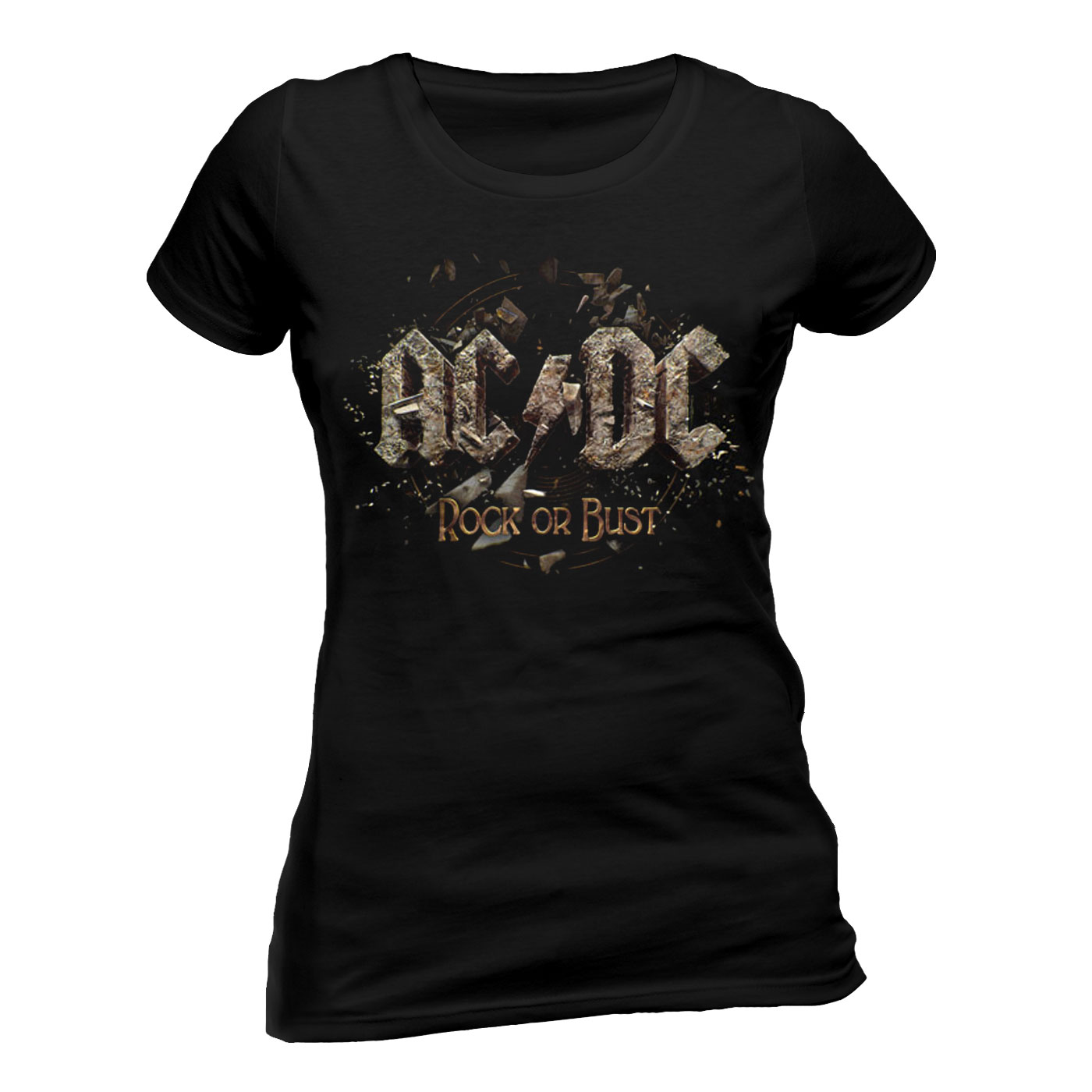 AC/DC - ROCK OR BUST (T-SHIRT DONNA TG. L)