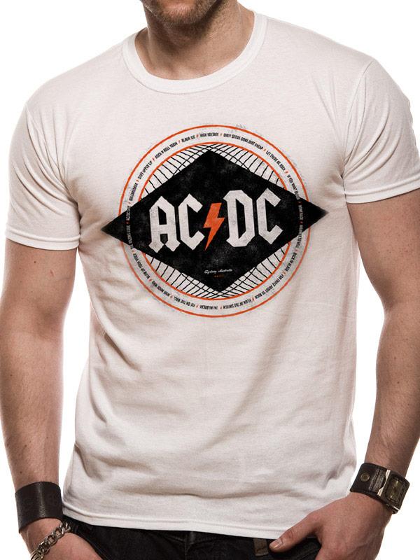 T-SHIRT - AC/DC - DIAMOND (UNISEX TG. S)