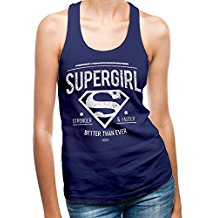 SUPERGIRL - BETTER THAN EVER (CANOTTA DONNA TG.S)