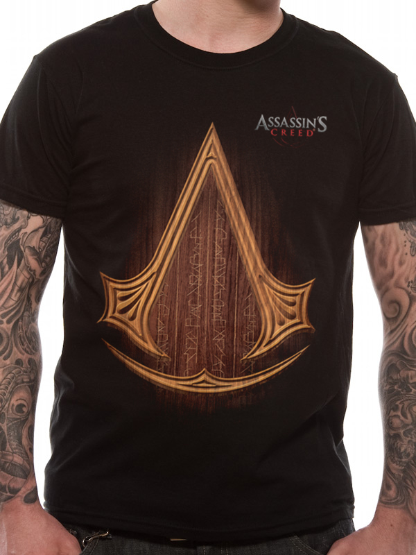ASSASSIN'S CREED MOVIE - ICON LOGO (T-SHIRT UNISEX TG. M)