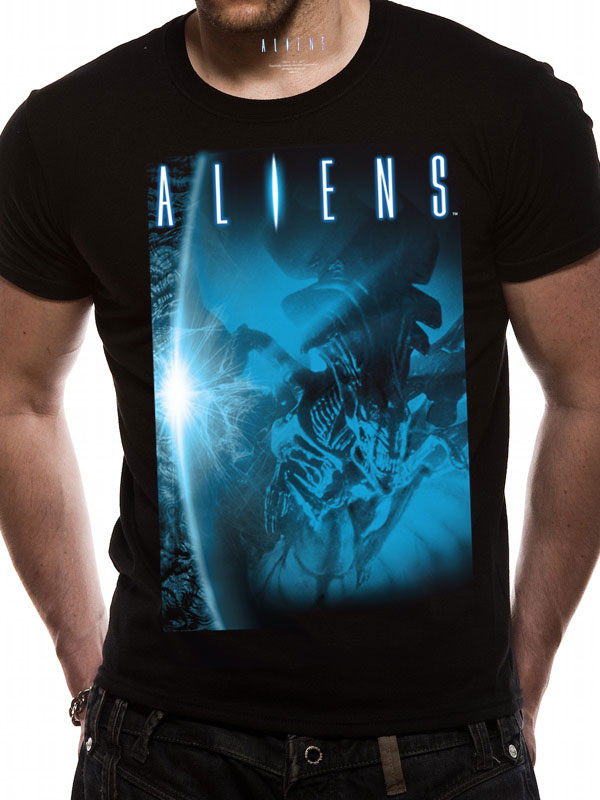 ALIEN - BLUE (T-SHIRT UNISEX TG. 2XL)
