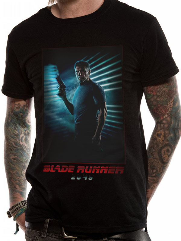 BLADE RUNNER 2049 - DECKARD FULL RED (T-SHIRT UNISEX TG. 3XL)