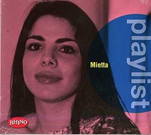 MIETTA - PLAYLIST (CD)