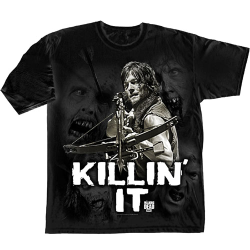 WALKING DEAD - KILLIN' IT (UNISEX TG. L)