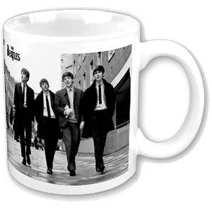 THE BEATLES ON THE STREET TAZZA / MUG - DA COLLEZIONE