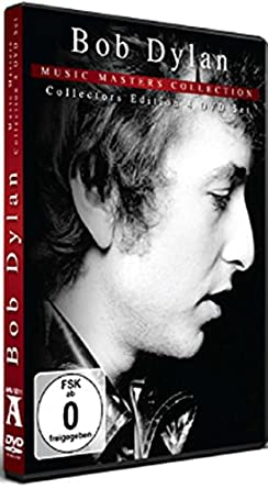COF.BOB DYLAN MUSIC MASTERS COLLECTION BOX SET -4 DVD (DVD)