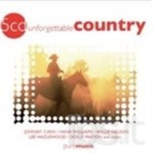 UNFORGETTABLE COUNTRY -5CD (CD)