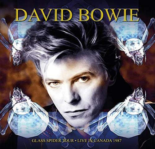 DAVID BOWIE - GLASS SPIDER TOUR - BLUE VINYL (3 LP) (LP)