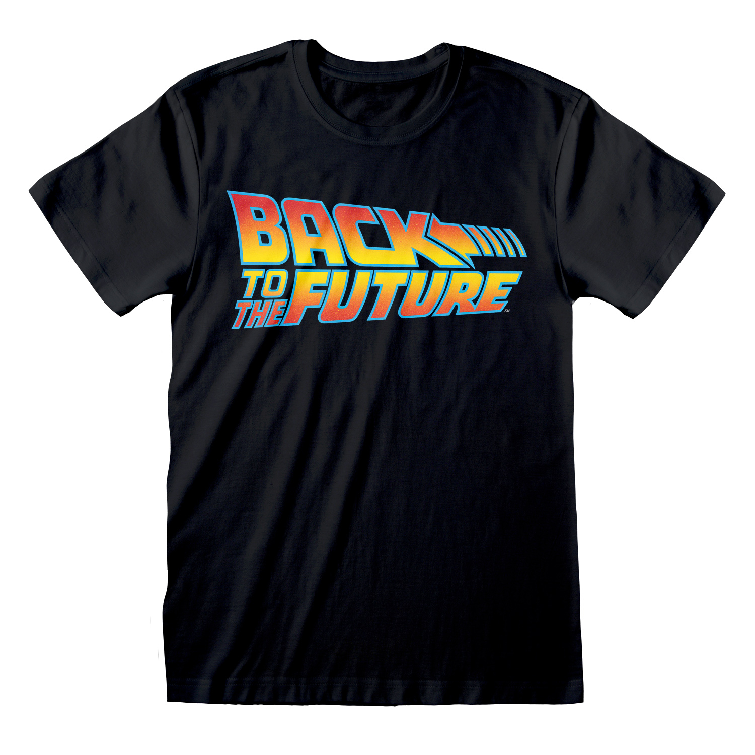 BACK TO THE FUTURE T-SHIRT LOGO SIZE M