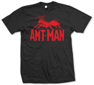ANT MAN - LOGO NERO (UNISEX TG. M)