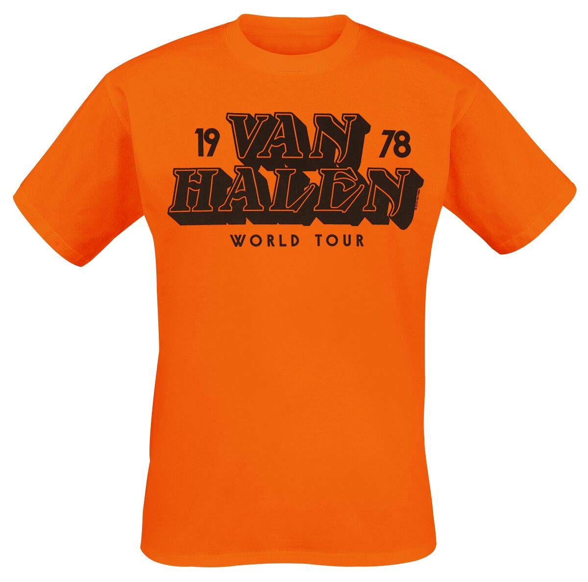VAN HALEN: WORLD TOUR '78 (T-SHIRT UNISEX TG. M)