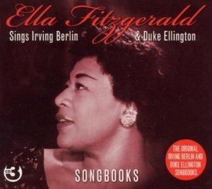 ELLA FITZGERALD - SINGS IRVING BERLIN DUKE ELLINGT -3CD (CD)