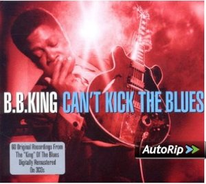 B.B. KING - CAN'T KICK THE BLUES -3CD (CD)