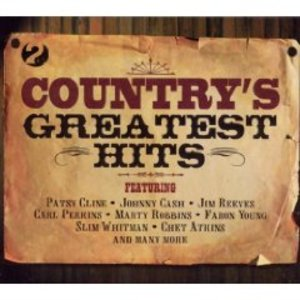 COUNTRY'S GREATEST HITS -2CD (CD)