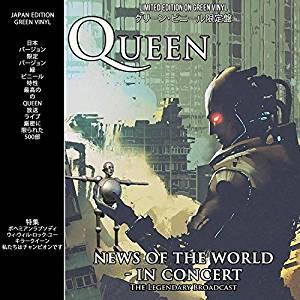 QUEEN - NEWS OF THE WORLD IN CONCERT (GREEN VINYL) (LP)