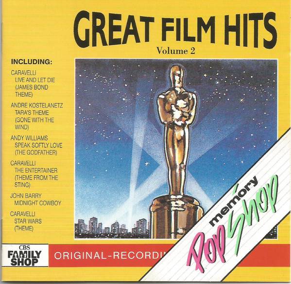 GREAT FILM HITS VOL.2 (CD)