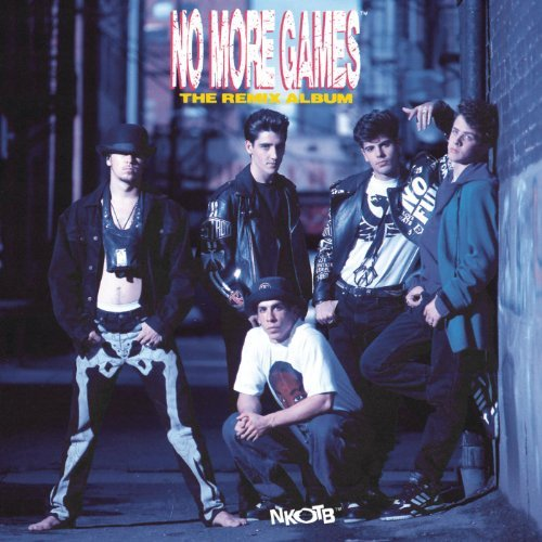NEW KIDS ON THE BLOCK - NO MORE GAMES RMX ALBUM (LP)