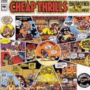 JANIS JOPLIN - CHEAP THRILLS BIG BROTHER AND THE HOLDING CO (CD)