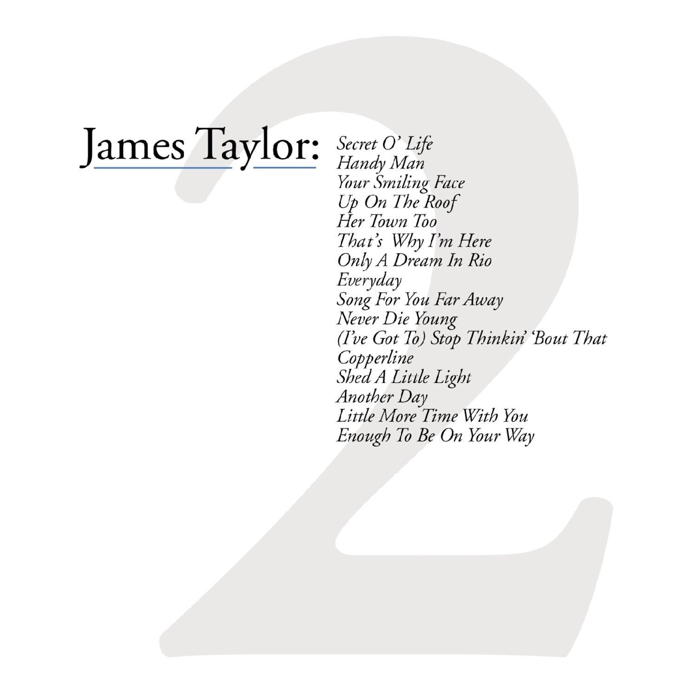 JAMES TAYLOR - GREATEST HITS VOL.2 (CD)