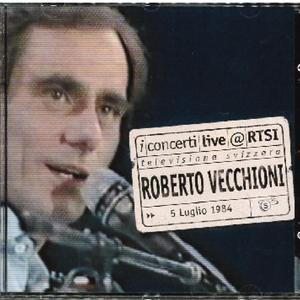 ROBERTO VECCHIONI - LIVE@RTSI (CD)