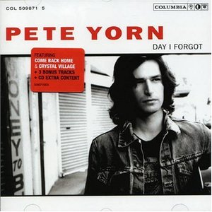 PETE YORN - DAY I FORGOT (CD)