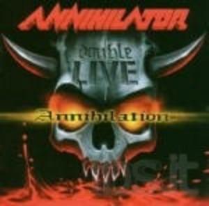 ANNIHILATOR - LIVE ANNIHILATOR -2 CD (CD)