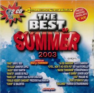 THE BEST OF SUMMER 2003 -2CD (CD)