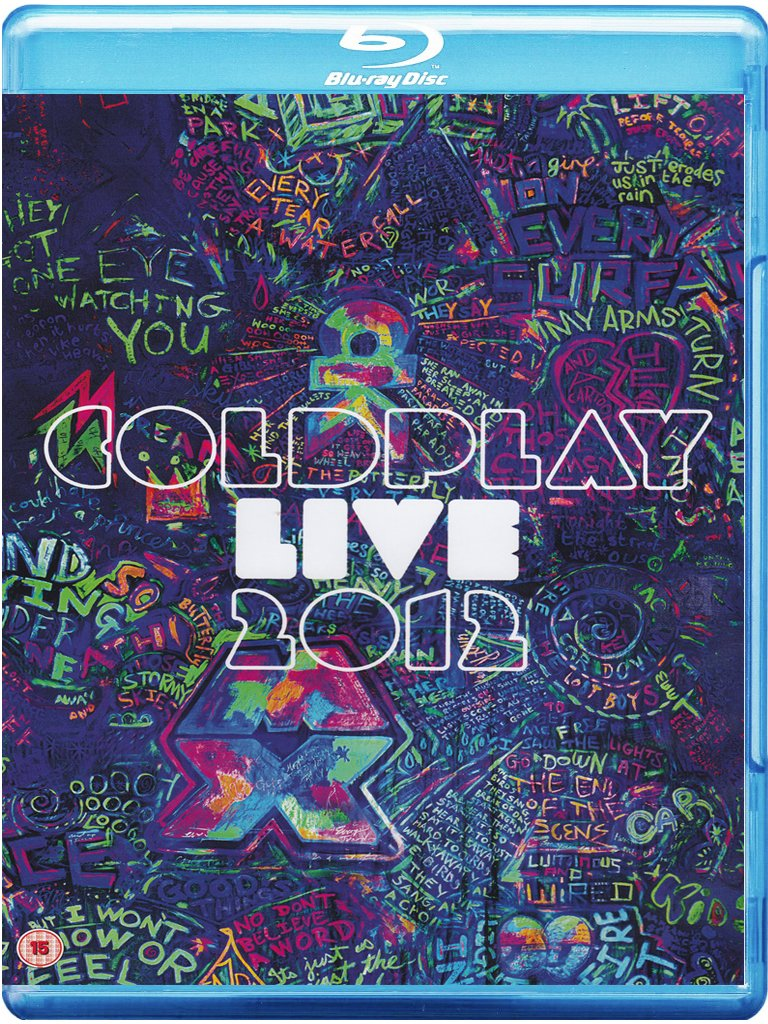 COLDPLAY - LIVE 2012 -CD+BR
