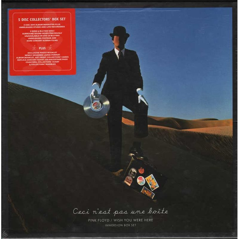 PINK FLOYD - WISH YOU WERE HERE (IMMERSION) -2CD+2DVD+BR (CD)