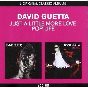 DAVID GUETTA - JUST A LITTLE MORE LOVE - POP LIFE (CD)